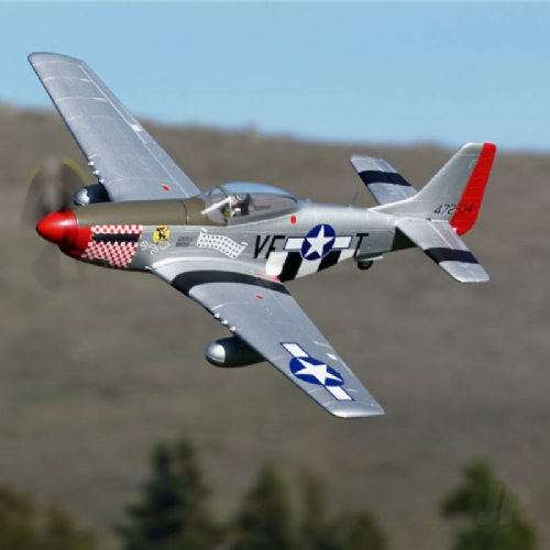 Arrow Hobby P-51 Mustang PNP with Retracts (1100mm)